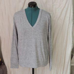 Banana Republic Light Long Sleeve Sweater Grey